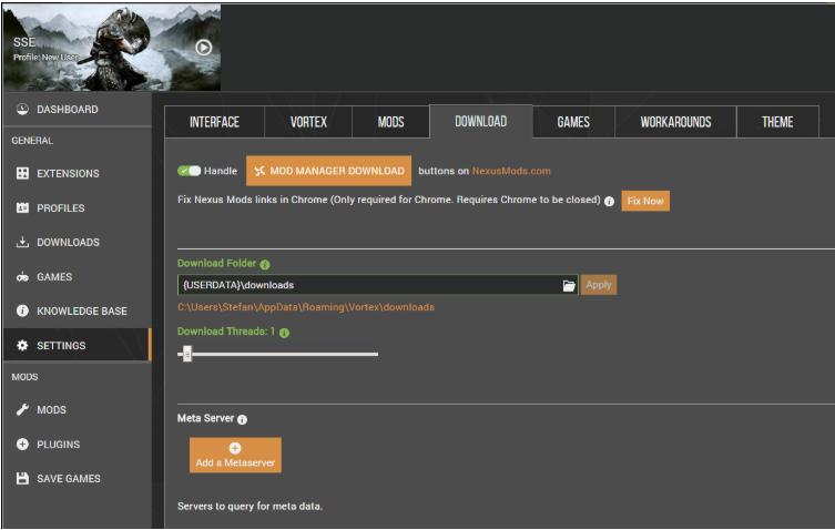 Modding Skyrim Special Edition with Vortex - Nexus Mods Wiki