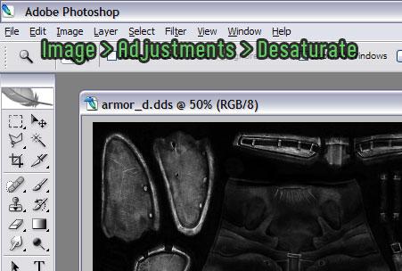 Photoshop retexturing made easy - Nexus Mods Wiki