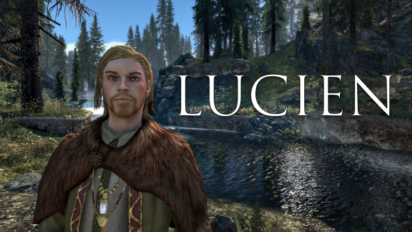 Lucien - Fully Voiced Follower at Skyrim Special Edition