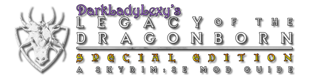 User:Darkladylexy/Lexys LOTD SE - Nexus Mods Wiki